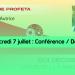 Mercredi 7 juillet : Conférence / débat